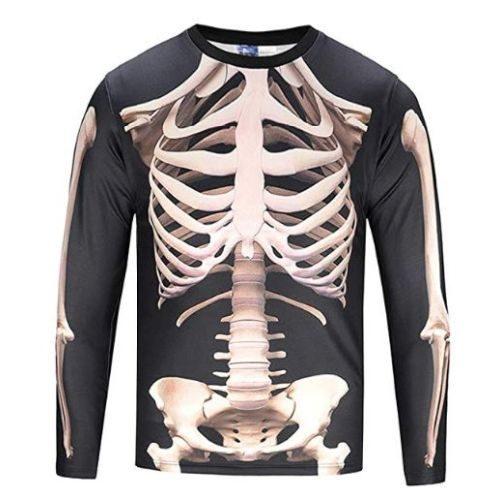 Camiseta Esqueleto Hombre