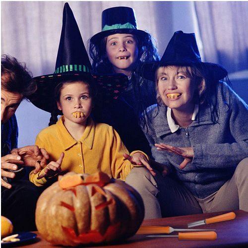 Kit Tallado Calabaza Halloween