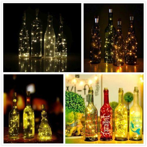 Iluminación de Botellas