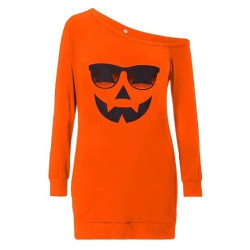 Blusa Naranja Mujer