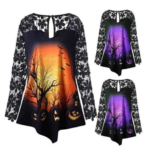 Camiseta Halloween Mujer
