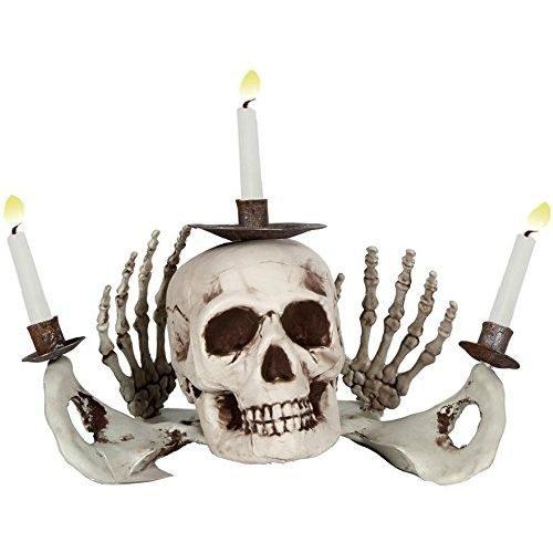 Candelabro Esqueleto Calavera