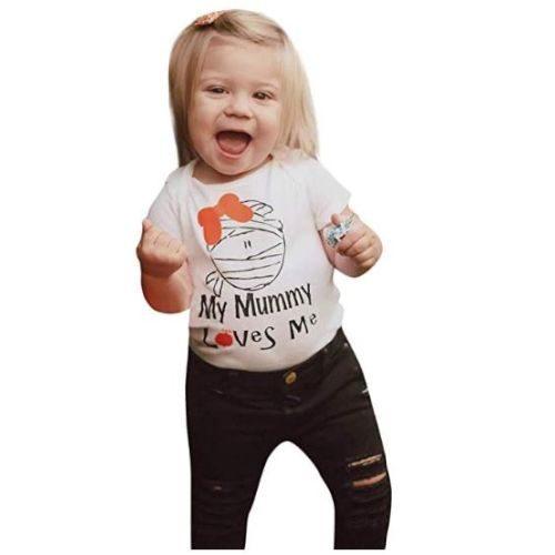 Camiseta Momia Niños