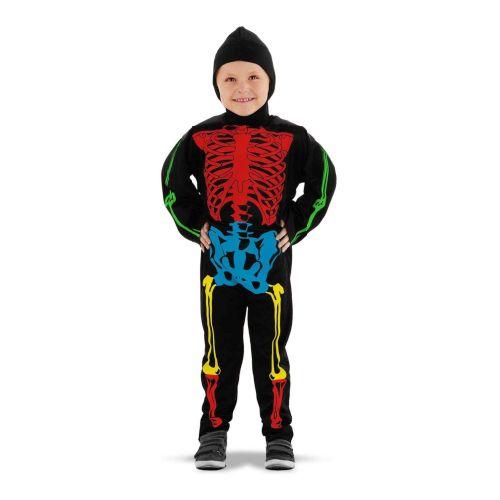 Disfraz Esqueleto Multicolor