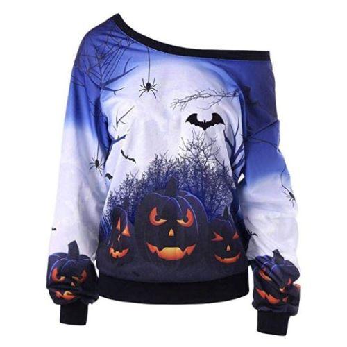 Sudadera Halloween Mujer