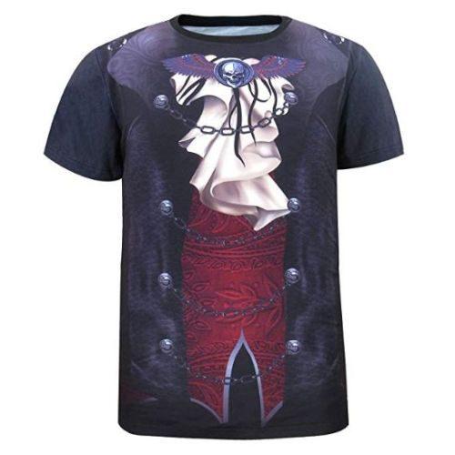 Camiseta Vampiro Gótico Hombre