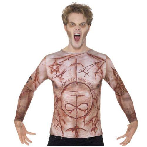 Camiseta con Cicatrices Hombre