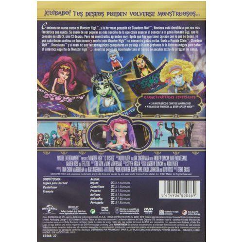 Monster High: Monstruosos Deseos