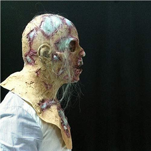 Mascara Cabeza Zombie