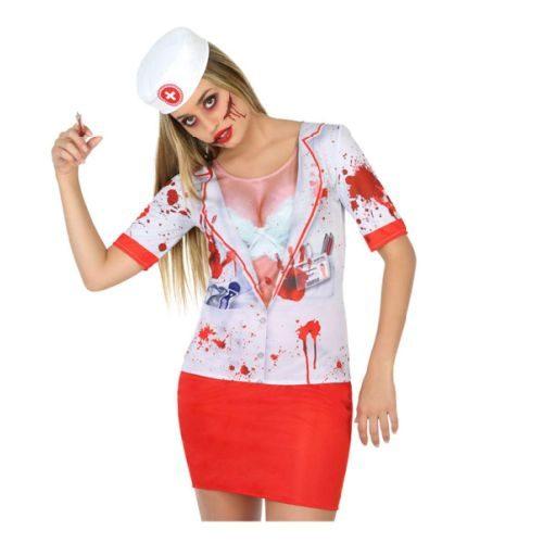 Camiseta Sangrienta Mujer