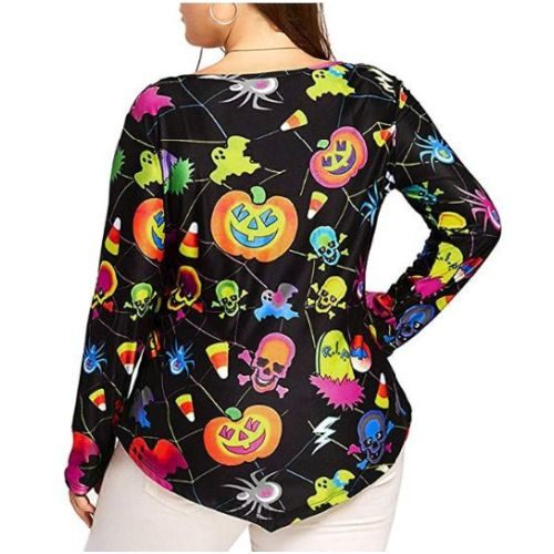 Camiseta Blusa Halloween Mujer